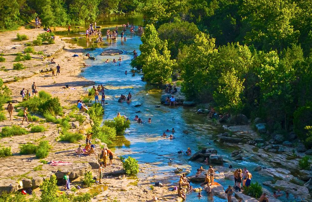 Austin Texas Barton Creek